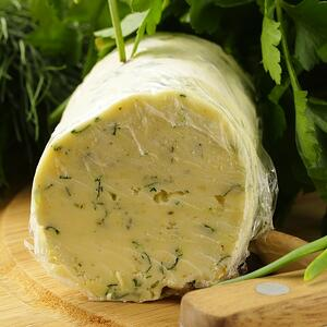 green onion and cilantro butter
